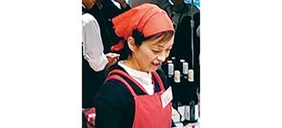クッキングステーション担当 管理栄養士 松原美奈子さん