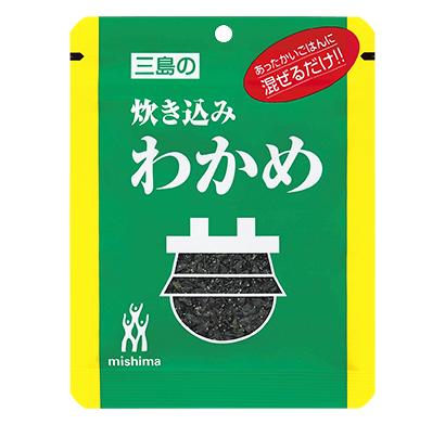 ふりかけ・お茶漬け特集:三島食品 「炊き込みわかめ」51周年企画を推進