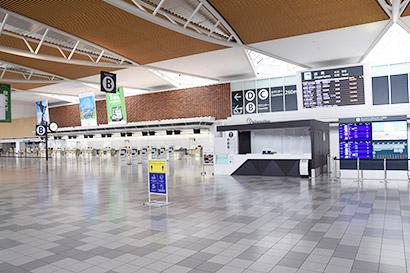 インバウンド客が消えた新千歳空港国際線ターミナル