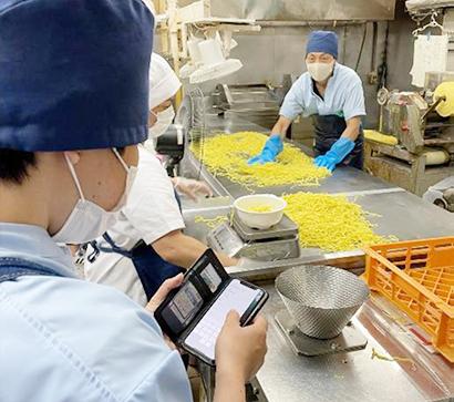 サステナビリティ特集:食品ロス削減=アステリア アプリで製造現場DX