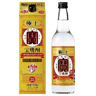 宝酒造、甲類焼酎戦略 「宝焼酎」百年品質を訴求