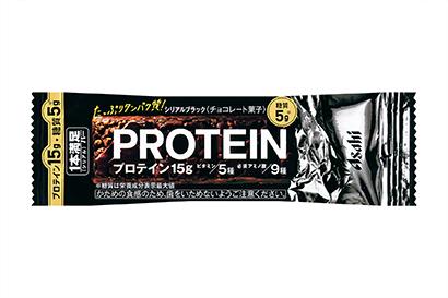 アサヒグループ食品、糖質5gの「1本満足バー プロテインブラック」投入 - 日本食糧新聞電子版