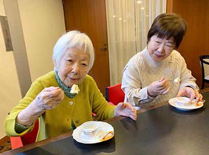 高齢者施設でも人気を集めている