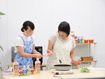 日食ふれあいクッキング、料理教室をライブ配信 「野菜をおいしく食べよう」テー…