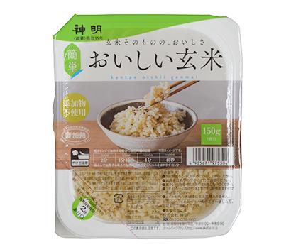 包装米飯特集:ウーケ 特盛・健康系が順調 玄米の食べにくさ解消