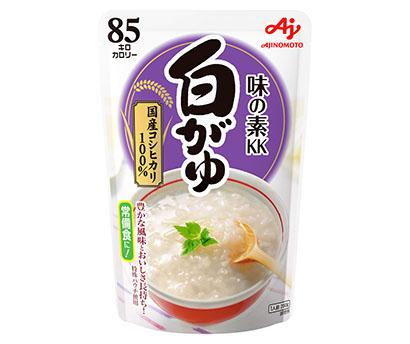 包装米飯特集:味の素社 「玉子」「紅鮭」かゆ堅調 日常食使いが浸透