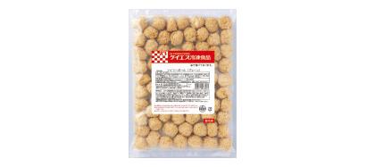 ケイエス冷凍食品「ソイリーボール(プレーン)」 1kg(袋)×6×2