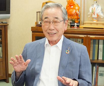 岩田産業グループ創業50周年:岩田陽男代表取締役会長CEO 理念は戦略に勝る