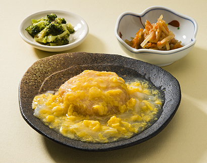 電子レンジや蒸し器で加熱するだけで、主菜1品と副菜2品が即完成
