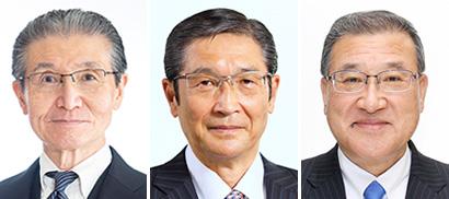 左から殿村育生氏、小路明善氏、木下紀夫氏