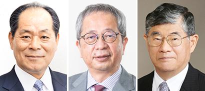 左から妹川英俊氏、堀内達生氏、田中正昭氏