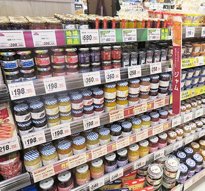 缶詰・瓶詰・レトルト食品特集:瓶詰=ジャム・海苔堅調 料理提案に成長余地も