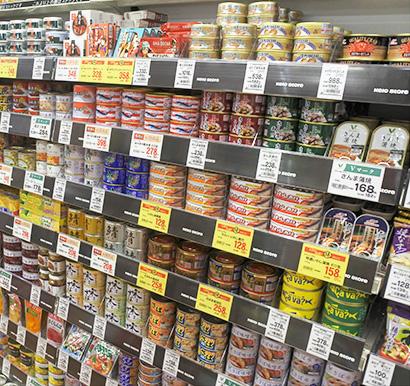 缶詰・瓶詰・レトルト食品特集:缶詰=価格で青魚缶苦戦 ツナ缶など他カテゴリー…