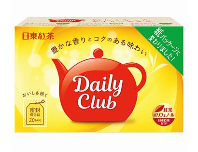 紅茶特集:三井農林 日東紅茶「デイリークラブ」刷新 環境配慮で紙容器に