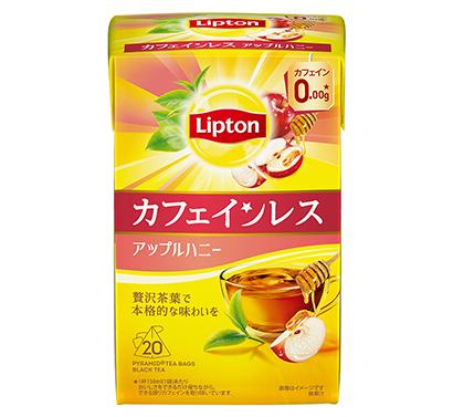 紅茶特集:ユニリーバ・ジャパン 「ウェルネスティー」カフェインレス拡充