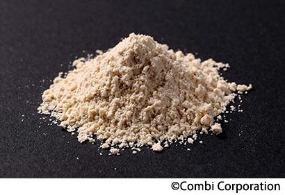原料として注目される殺菌乳酸菌「EC-12」(粉体)