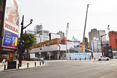北海道流通特集:注目ニュース=すすきのラフィラ跡地 複合商業施設へ