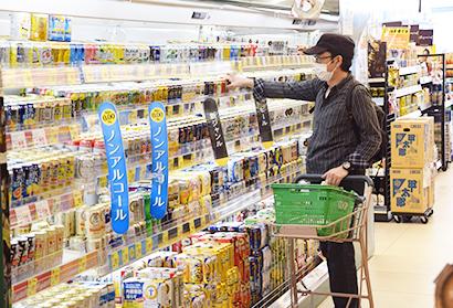 6月のスーパーの飲食料品は5ヵ月ぶりに前年を上回った