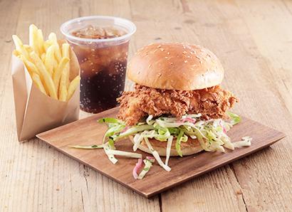大手外食、チキン参入加速 フライドやバーガーで中食開拓に期待