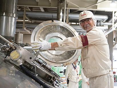 キリンビール仙台工場、遠野産ホップ仕込み式