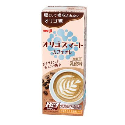 明治、「オリゴスマート」強化 飲料タイプ「カフェオレ」「ココア」発売