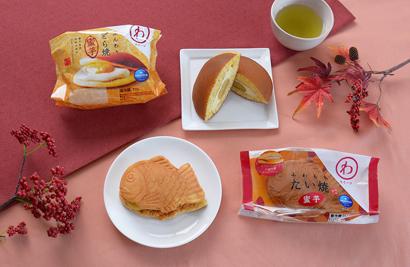 モンテール「わスイーツ」、種子島産安納芋使用「ふんわりどら焼・蜜芋」発売