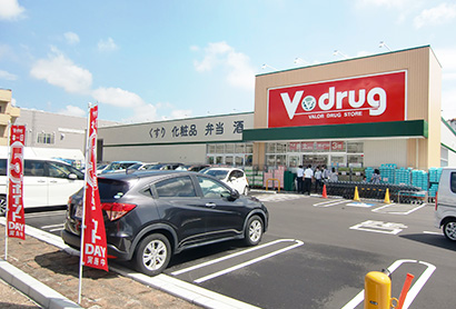 中部流通特集:中部薬品 「Vdrug」新たに2店オープン