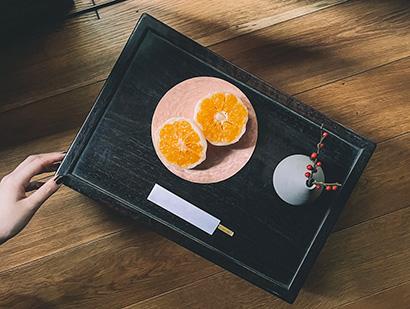 断面が美しいフルーツ大福