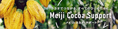 明治、持続可能なカカオ豆生産に向け産地支援の目標設定
