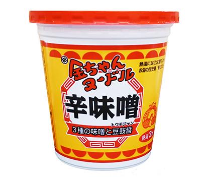 即席麺特集:徳島製粉 「金ちゃんヌードル辛味噌」投入