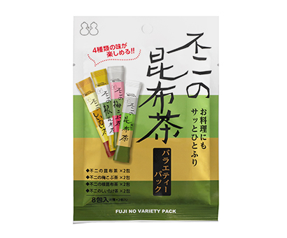 昆布茶特集:不二食品 料理用途訴求を強化 9月にバラエティーパック発売