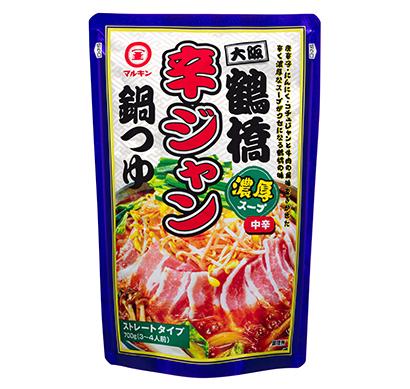 鍋物調味料特集:盛田 大阪シリーズ第3弾「辛ジャン」