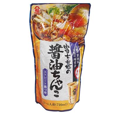 鍋物調味料特集:九州地区=富士甚醤油 主力は「もつ鍋」「ちゃんこ」