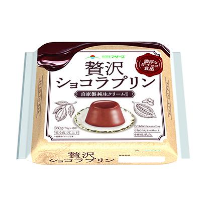 「贅沢ショコラプリン」発売(らくのうマザーズ)