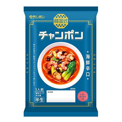 「韓国式 チャンポン 海鮮辛口」発売(モランボン)