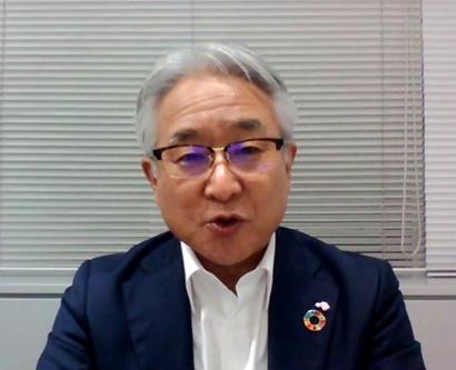 味の素社、栄養評価の世界基準をリード 西井孝明社長がATNイベントで提言