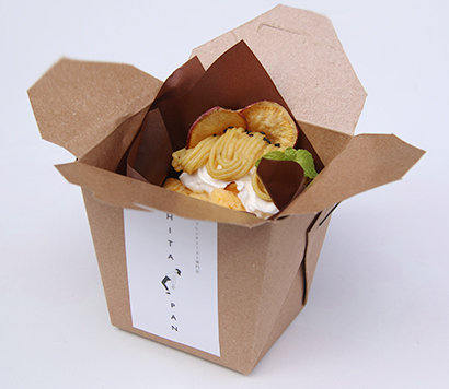 エスワイフード「ヒタパン」、「贅沢芋ンブラン」販売 サツマイモスイーツ店とコ…