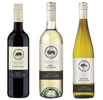 日本酒類販売、ハンガリーワイン「タリスマン」ブランド3種発売