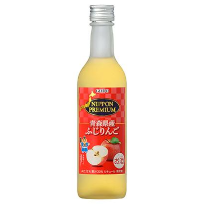 「NIPPON PREMIUM 青森県産ふじりんご」発売(合同酒精)