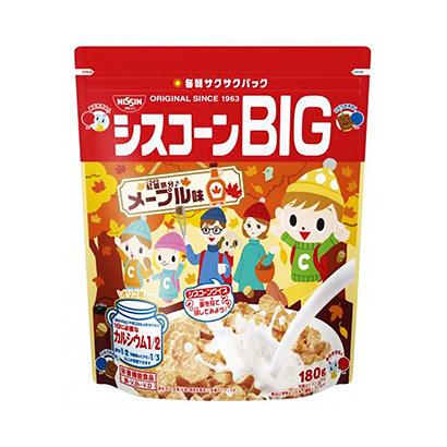 「シスコーンBIG メープル味」発売(日清シスコ)