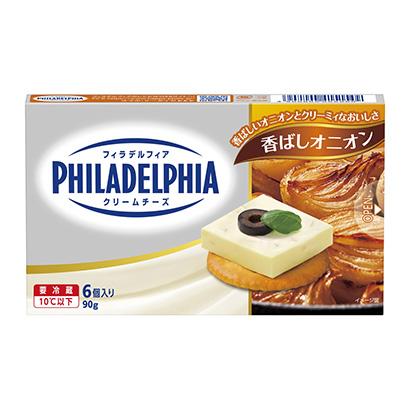 「フィラデルフィアクリームチーズ 6P 香ばしオニオン」発売(森永乳業)