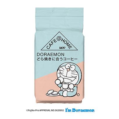 「UCC CAFE@HOME DORAEMON どら焼きに合うコーヒー」発売…