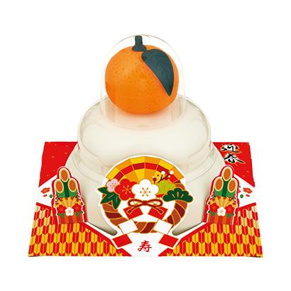 「お鏡餅 まる餅入り 橙」発売(たいまつ食品)