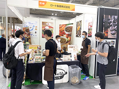 FABEX関西2021:デザート・スイーツ&ベーカリー展=ロート製薬