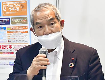 FABEX関西2021:全日本洋菓子工業会・加藤信顧問が講演 「巨匠らから学…
