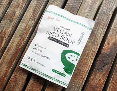野田味噌商店、ビーガン対応即席味噌汁を発売 植物性原料のみ使用