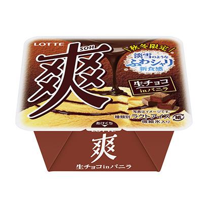 「爽 生チョコinバニラ」発売(ロッテ)